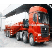 Bulk cement powder truck/bulk cement truck/bulk powder tank trailer/bulk cement truck trailer